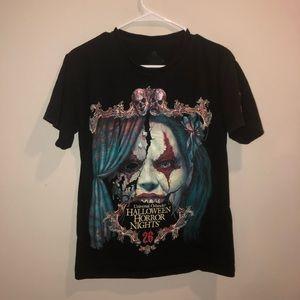 Haloween Horror Nights 26 Bar Crew Shirt Clown